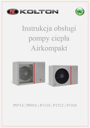 Instrukcja obsługi pompy ciepła Airkompakt