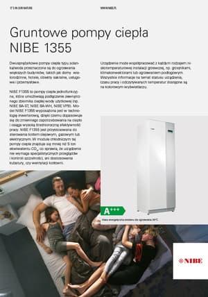 Pompa ciepła NIBE 1355