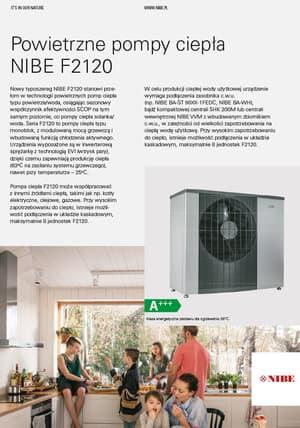 Pompa ciepła NIBE F2120